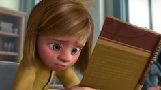 Screencap Gallery for Inside Out Bluray, Pixar). Growing up can be a bumpy road, and it's no exception for Riley, who is uprooted from her Midwest life when her father starts a new job in San Francisco. Pixar, Jumanji Movie, Disney Inside Out, Joy And Sadness, Best Disney Movies, Disney Cartoons, First Day Of School, New Job, Illustrators