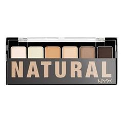 nyx natural palette - soooo cheap!!  how does it compare to UD or lorac??