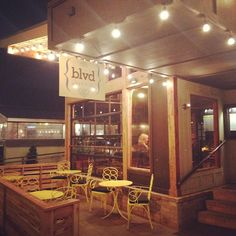 Enjoy the beautiful weather on the patio of Blvd. Nashville on Belmont Blvd. This bistro, bar and market is open seven days a week from 11 a.m. to 11 p.m. and serves a fabulous brunch on Sundays.