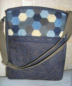 Джинсовые сумки – купить или заказать в интернет-магазине на Ярмарке Мастеров | Удобные, вместительные (входит А4 формат),…