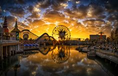 Paradise Pier, California, USA
