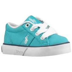 Baby Polo Shoes | Polo Giles - Toddlers - Street Fashion - Shoes - Aqua/White ... / baby ...