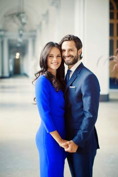 The Swedish Royal Court has released new official photographs of Prince Carl Philip and Sofia Hellqvist.