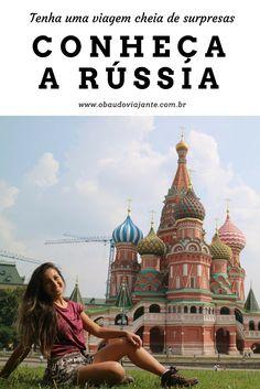 Já pensou em conhecer a Rússia?  Esse pode ser um ótimo destino de viagem para as suas próximas férias.  Conheça as principais atrações do país como a Catedral de St Petersburgo e Moscou. Além disso, descubra um pouco como são os russos.