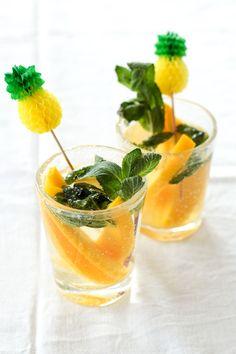 Die Glücklichmacherei: Mango-Lemon-Mojito