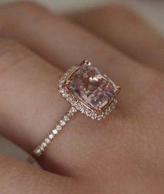 unique engagement rings without diamonds – Google Search