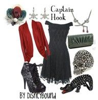 Disney inspired outfits - Captain Hook