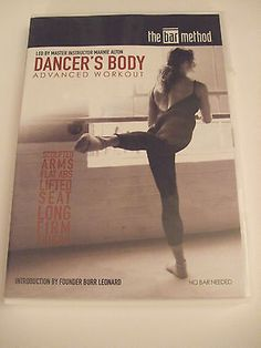 The Bar Method Dancers Body Advanced Workout DVD sculpted arms flat abs firm