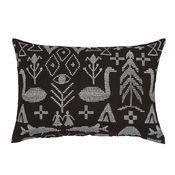 Image of Maailman Synty small cushion by Saana & Olli