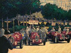 Barry Rowe Automotive Art