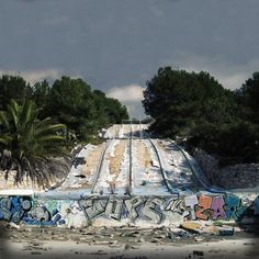 Abandoned waterpark turned counter-culture mecca