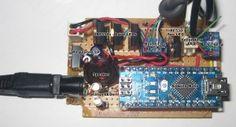 dual led desk light controller arduino