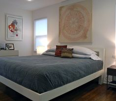 Feels like master bedroom, but not this exact bed.