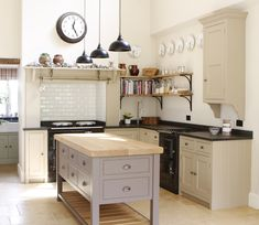 Christopher Peters: a Beautiful and soothing kitchen to aspire to...