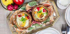Słodko-słony świat Ilony...: SZAMPAN Z MUSEM TRUSKAWKOWYM Number Cakes, Camembert Cheese, Eggs, Breakfast, Cooking Ideas, Morning Coffee, Egg, Egg As Food