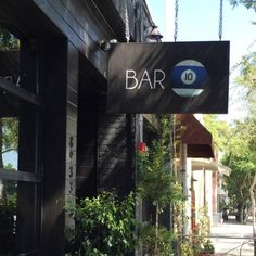 Bar 10 in the gay-friendly section of West Hollywood. Nearby is PUMP Lounge, The Abbey, Mickey's, and Rage.