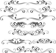 Swirl Tattoo Designs | Swirl Design Ornament Tattoo Pictures to Pin on Pinterest