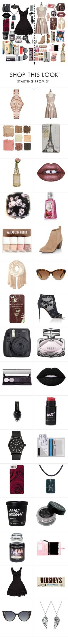 """Me And My Best Friend. xx"" by cory-price ❤ liked on Polyvore featuring MICHAEL Michael Kors, Illamasqua, TokyoMilk, Cultural Intrigue, Lime Crime, H&M, New Look, Calvin Klein, Michael Kors and Hershey's"