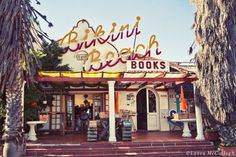 Bikini Beach Books, Gordon bay, South Africa