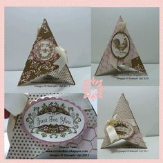 pyramid cards by sharon field