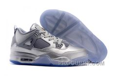 https://www.procurry.com/air-jordans-4-liquid-metal-silver-shoes-for-sale-new.html AIR JORDANS 4 LIQUID METAL SILVER SHOES FOR SALE NEW Only $92.00 , Free Shipping!