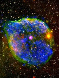 Express Photos: Wolf-Rayet Nebula is a nebula which surrounds a Wolf-Rayet star
