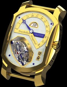 Bexei Dignitas Tourbillon Diagonal Watch - Union of Complications Watches Channel