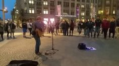 Amazing street singer | U2 cover | U2 with or without you