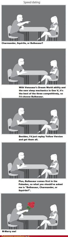 better than speed dating
