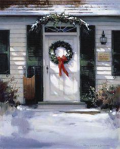 A Christmas Door