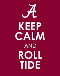 southerngirlandpearls:  fraterpillar:  Hope the boys and Saban can pull off a win.  I'm taking Bama 9-6