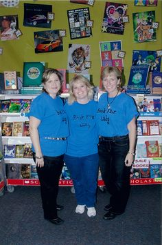Scholastic Book Fairs are run by parents, teachers, and school volunteers.