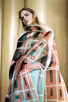 Saina Koohnavard Sweden fashion designer 2D textiles