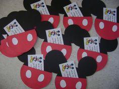 invitación mickey mouse