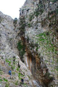 archaeological walk in Crete