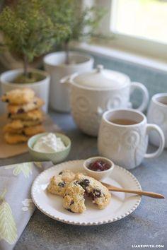 Food Lover Friday: Gluten-Free Blueberry Scones