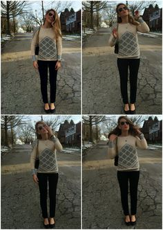 I'm Freezing: J. Crew Handknit Tile Sweater