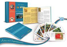 Un magnifique jeu de Sylvie de Soye pour découvrir ou redécouvrir les Peintres impressionnistes. Un jeu distribué par Sandra Moreira Editions
