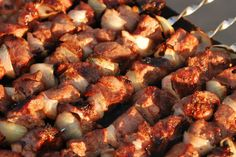 DEER KABOBS! Great Kebab recipe! Venison can be substituted out for your favorite meat. Grilling them is definitely the best way to make these.