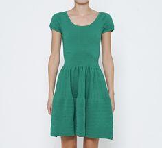 Sandro Green Dress