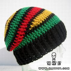 This handmade slouchy rasta hat is available at The Hat Pit. If you don't like to the colors you can pick 4 of your favorite ... (via madhatter)