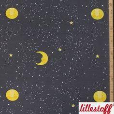 lillestoff, Lillemond, Bio-Jersey, 19,90 EUR / Meter - Bild vergrößern Fabrics, Pictures