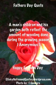 Fathers Day Quote #Quotes
