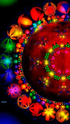 Animation 004 by Images Gif, Gif Pictures, Psychedelic Art, Animation, Rainbow Colors, Vibrant Colors, Rich Colors, Art Fractal, Beau Gif