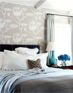 "Bedroom: ""It gives the room a sense of importance it might not otherwise have had."""