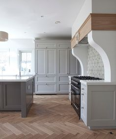 Hamptons Collection kitchen. Newcastle Design, Rathnew, Ireland.