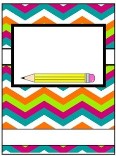 Free printable music binder cover template. Download the cover in ...