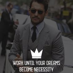 Follow @crown_motivation for more motivation Dreaming Of You, Motivational Quotes, Suit Jacket, Crown, Suits, Fictional Characters, Outfits, Suit, Jacket