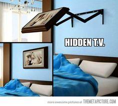 Hidden TV…