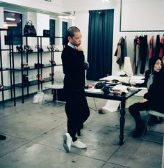 JASON WU: From faucets to cameras (and bridal gowns and candles), the young designer is constantly expanding his brand. But a day at the office still means plenty of sketches and stitches.